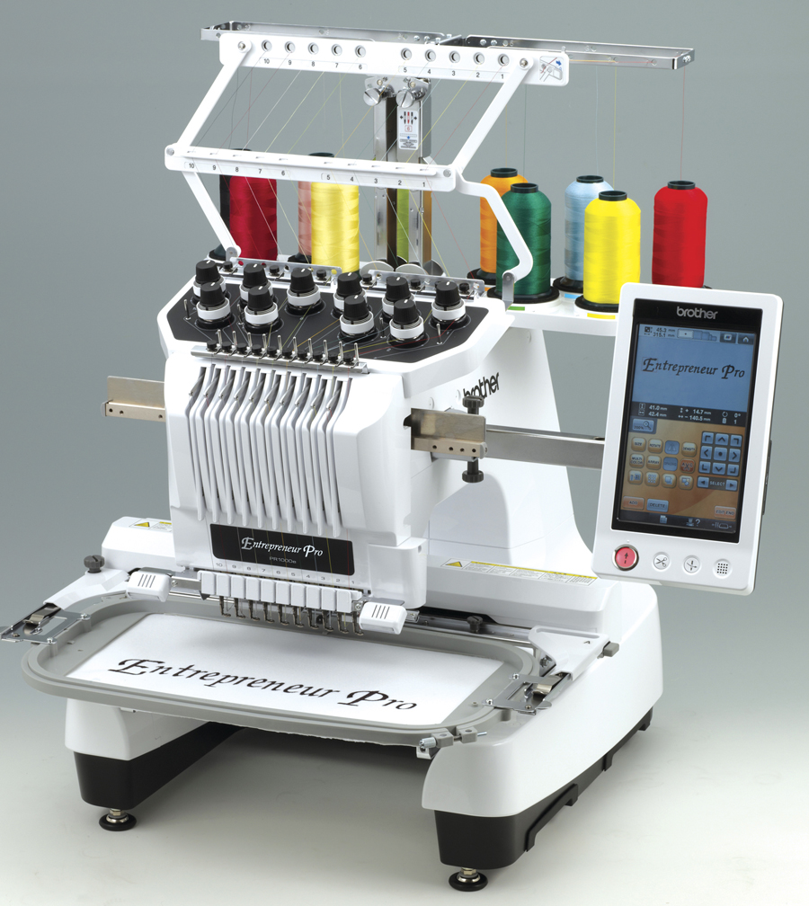 embroid machine